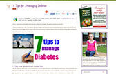 7 Tips for Managing Diabetes by Ellen Christian