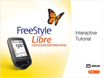 FreeStyle Libre interactive tutorial